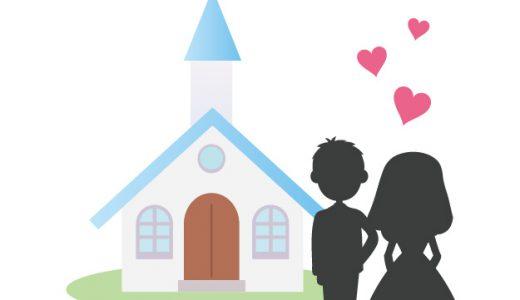 教会(チャペル)キリスト教式の一般的な挙式の流れ「バージンロード」から「結婚証明書への署名」